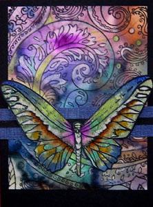 Paisley butterflies 1