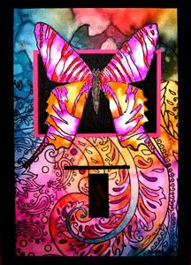 Paisley butterflies 2