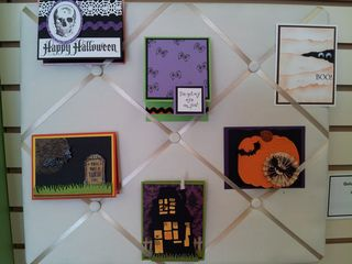 Halloween cards group